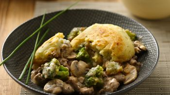 Beef and Potato Dumpling Casserole