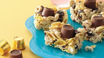 Honey-Nut Caramel Candy Bars