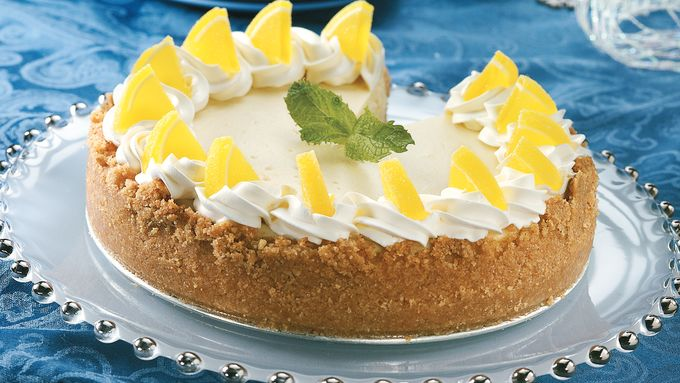 Lemon Ricotta Cheesecake