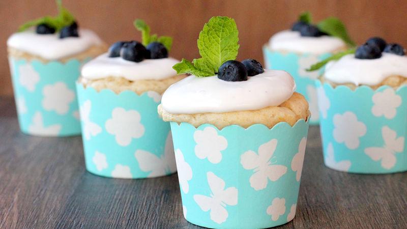 Skinny Vanilla Bean Cupcakes