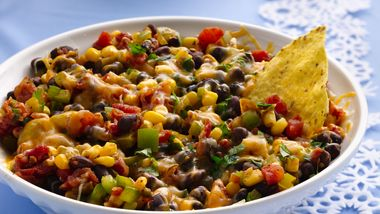 Warm Southwest Salsa with Tortilla Chips