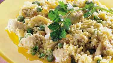 Curried Chicken and Couscous Salad