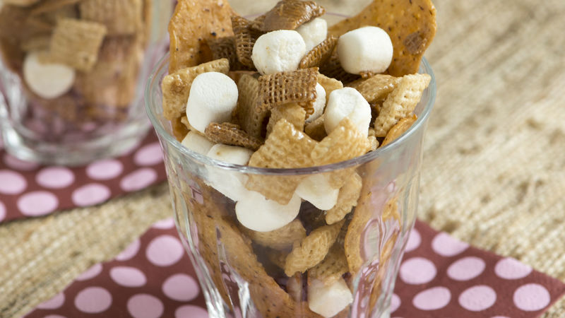 Sweet Potato Chips Chex Mix