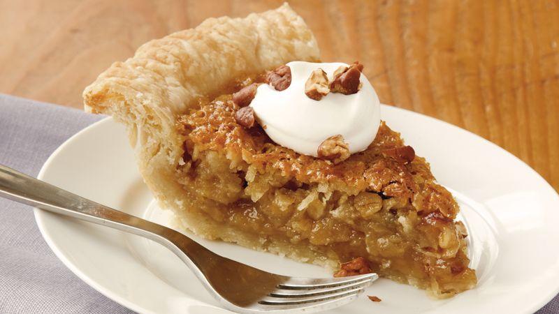 Oatmeal-Date-Coconut Pie