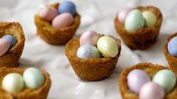 Chocolate Chip Bird's Nest Cookies