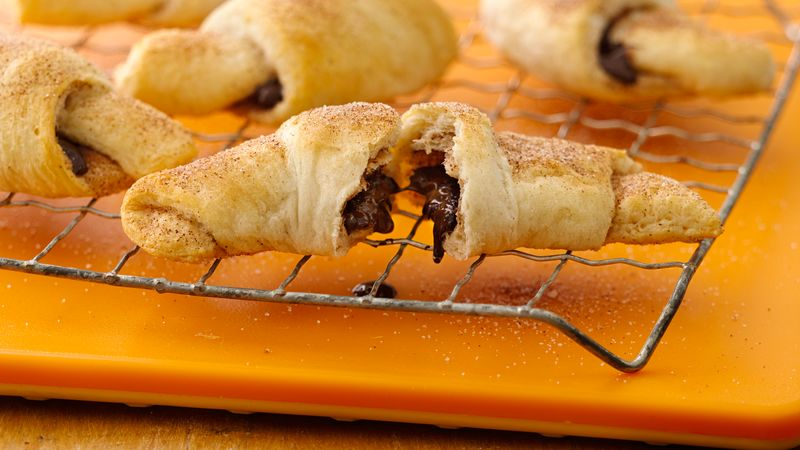 Mexican Chocolate Crescents