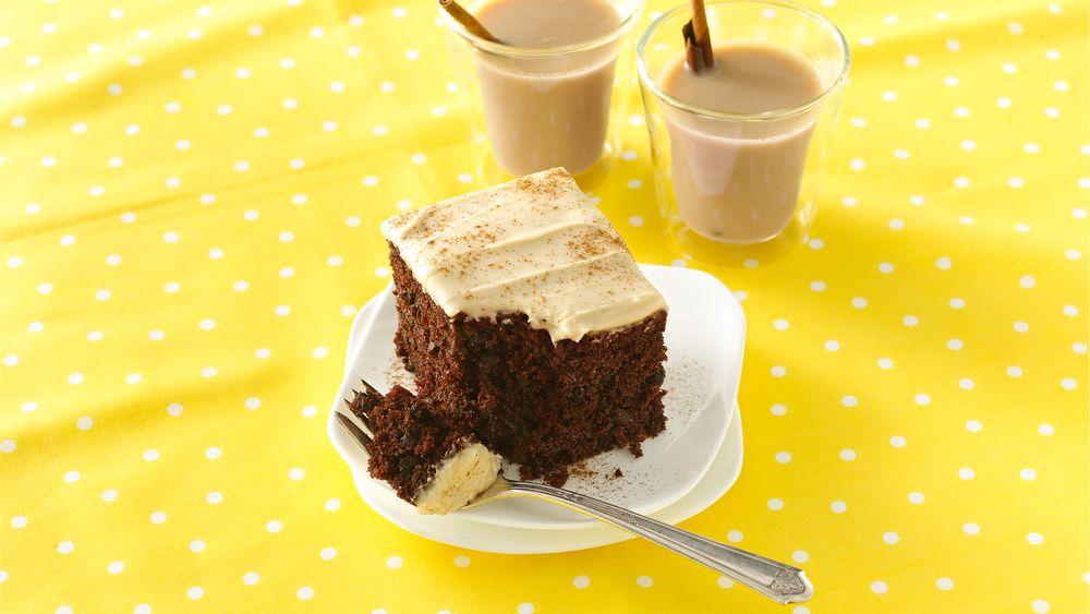 Chocolate Chai Latte Cake