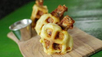 Chicken and Waffle Wings