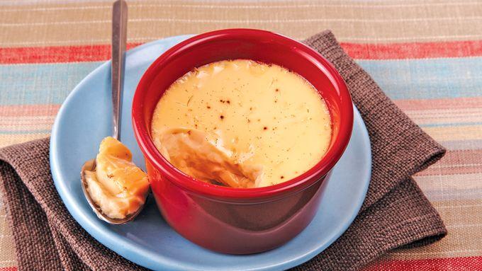 Slow-Cooker Vanilla Bean Custard