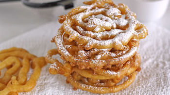 DIY State Fair Funnel Cake