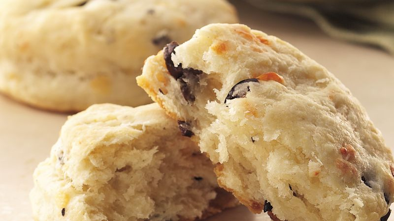Provolone and Olive Biscuits recipe - from Tablespoon!