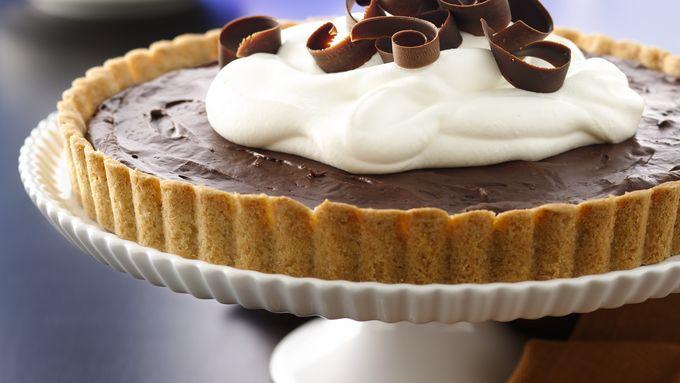 Fudgy Dark Chocolate Tart (White Whole Wheat Flour)