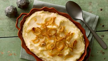 Do-Ahead Garlic Mashed Potatoes