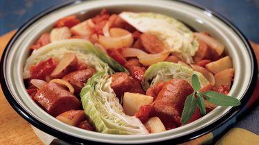 Chunky Sausage and Potato Supper
