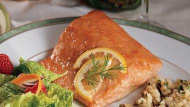 Simple Honey-Glazed Salmon