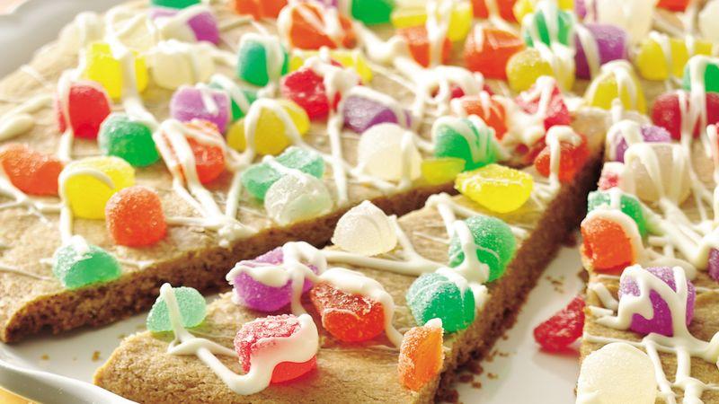 Sugarplum Cookie Pizza