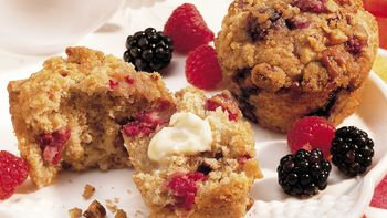 Streusel Berry Muffins