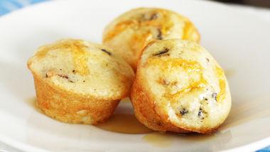 Bacon Cheddar Bisquick® Pancake Bites