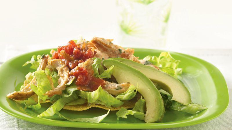 Tostada Chicken Salad