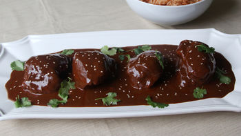 Mole Poblano with Chicken Thighs