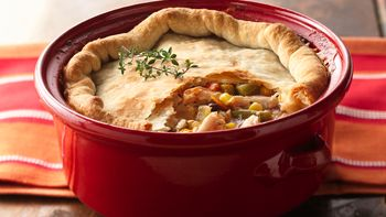 Garden Vegetable Chicken Pot Pie