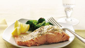 Broiled Lemon-Pepper Salmon