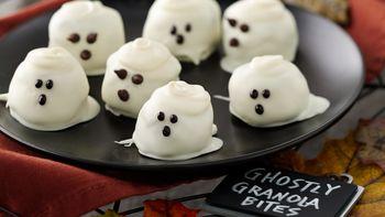 Ghostly Granola Bites