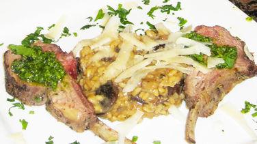 Lamb Chops with Mint Pesto