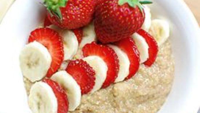 Strawberry-Banana Breakfast Quinoa