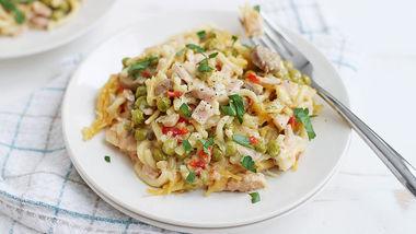 Easy Slow-Cooker Turkey Tetrazzini