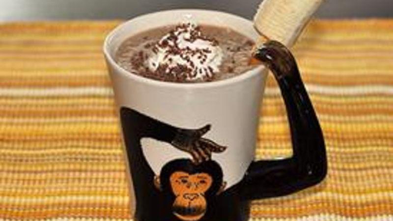 Mocha Monkey Moo Smoothie