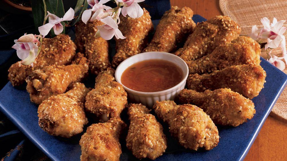 Sesame Chicken Drummies