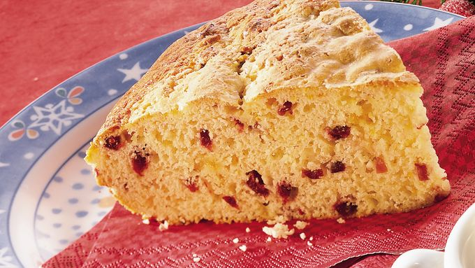 Cranberry Scone Loaf