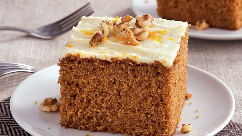 Citrus Frosted Spice Cake