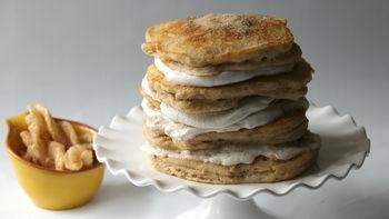 Churro Pancake Cake