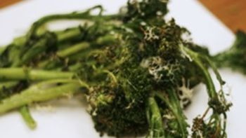 Roasted Parmesan Broccoli