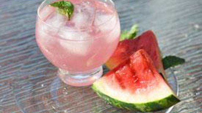 Grilled Boozy Watermelon