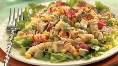 Southwestern Chicken Pasta Salad