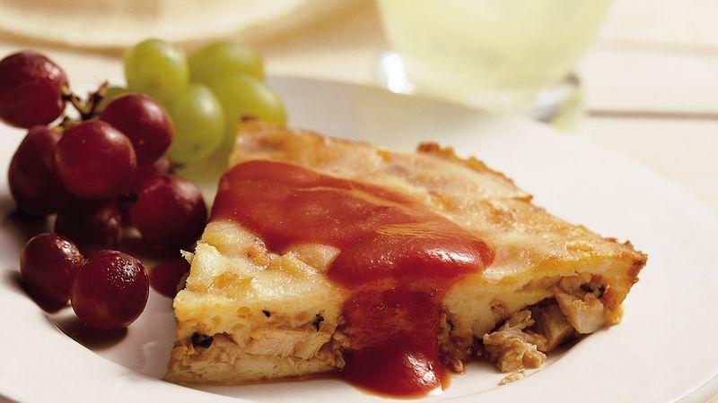 Cheesy Italian Chicken Pie