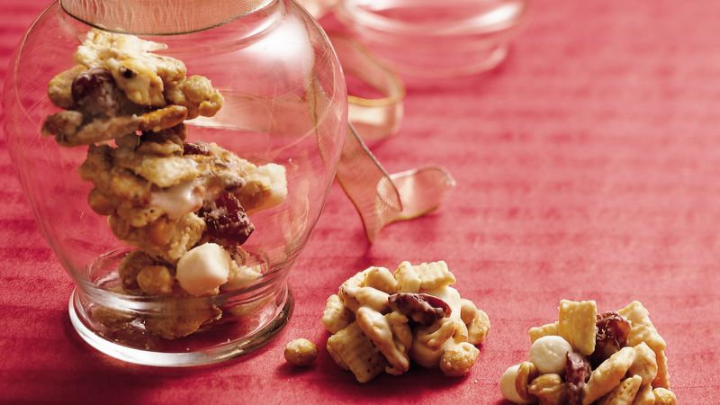 White Chocolate Cherry Crunch