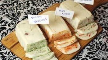 Flavored Cheddar Cheese Blocks