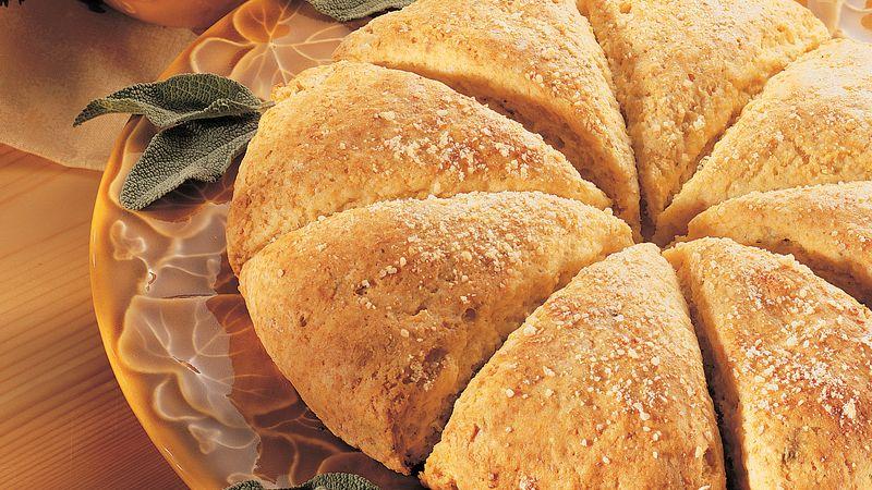 Cornmeal Sage Scones