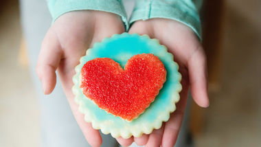 Double-Heart Sugar Cookies