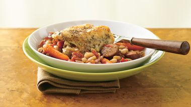 Sausage and Chicken Cassoulet