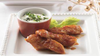 Boneless Buffalo Chicken Appetizers