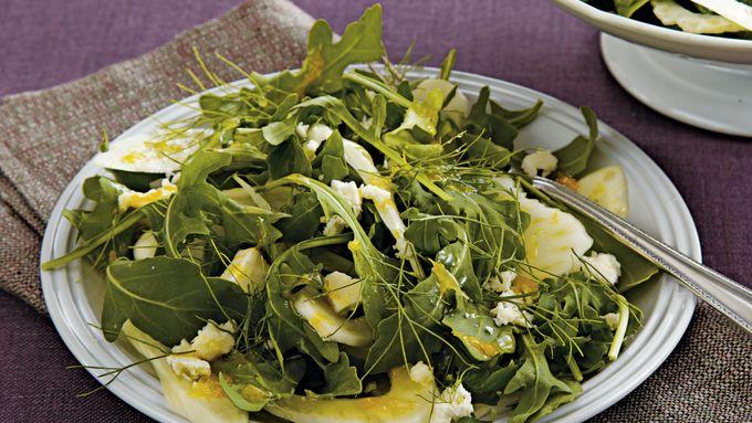 Shaved Fennel and Arugula Salad