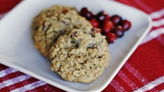Cranberry Chocolate Chunk Oatmeal Cookies