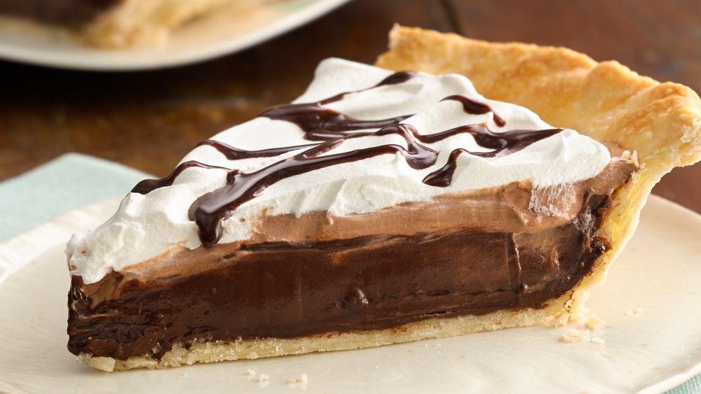 Hazelnut Macchiato Mocha Pie