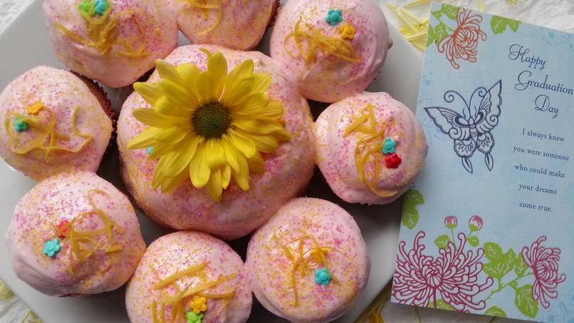 Cupcakes de Limonada Rosada