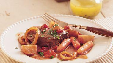 Slow-Cooker Swiss Steak and Veggies
